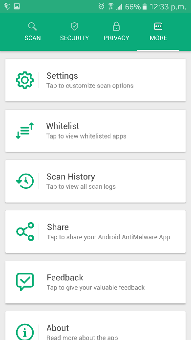 Systweak Anti-Malware Whitelist