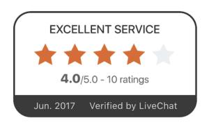 Value your clients' reviews about your service