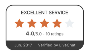 Value your clients' reviews about your service