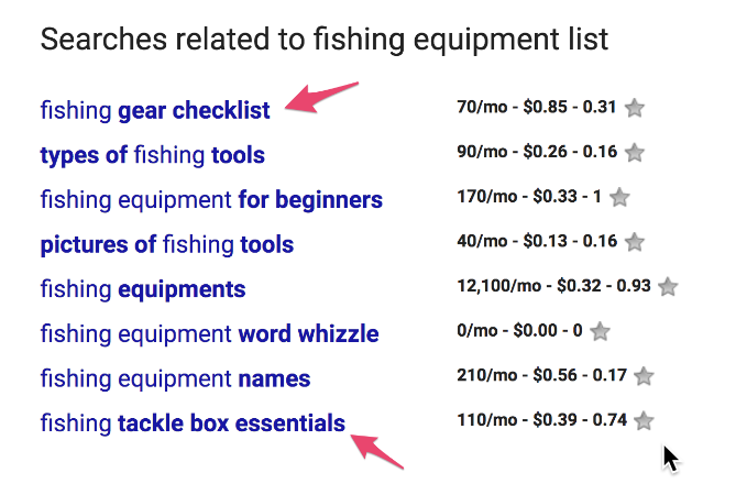 Search Related to Fishing equipment