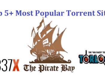 Top 5+ Most Popular Torrent Sites