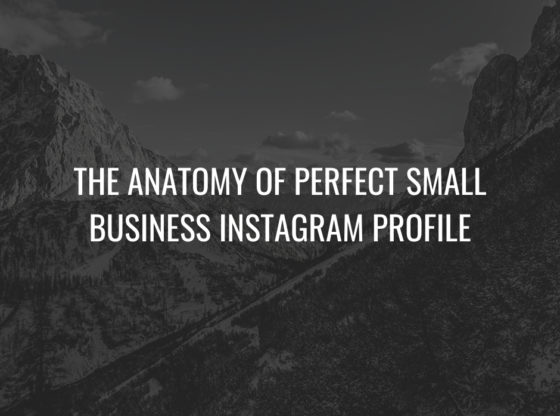 Business Instagram Profile